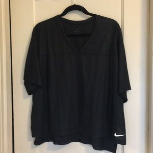 Nike DriFit Black Workout Tee